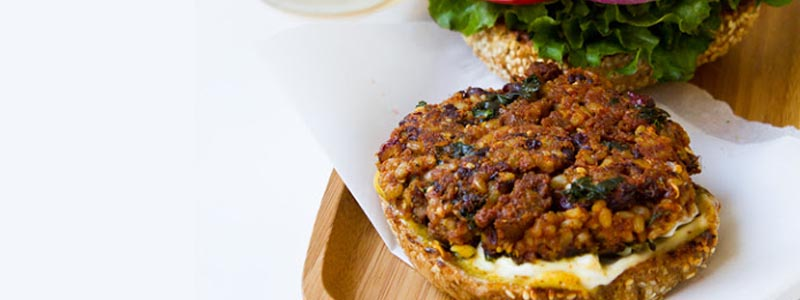 Veg Burger Recipe