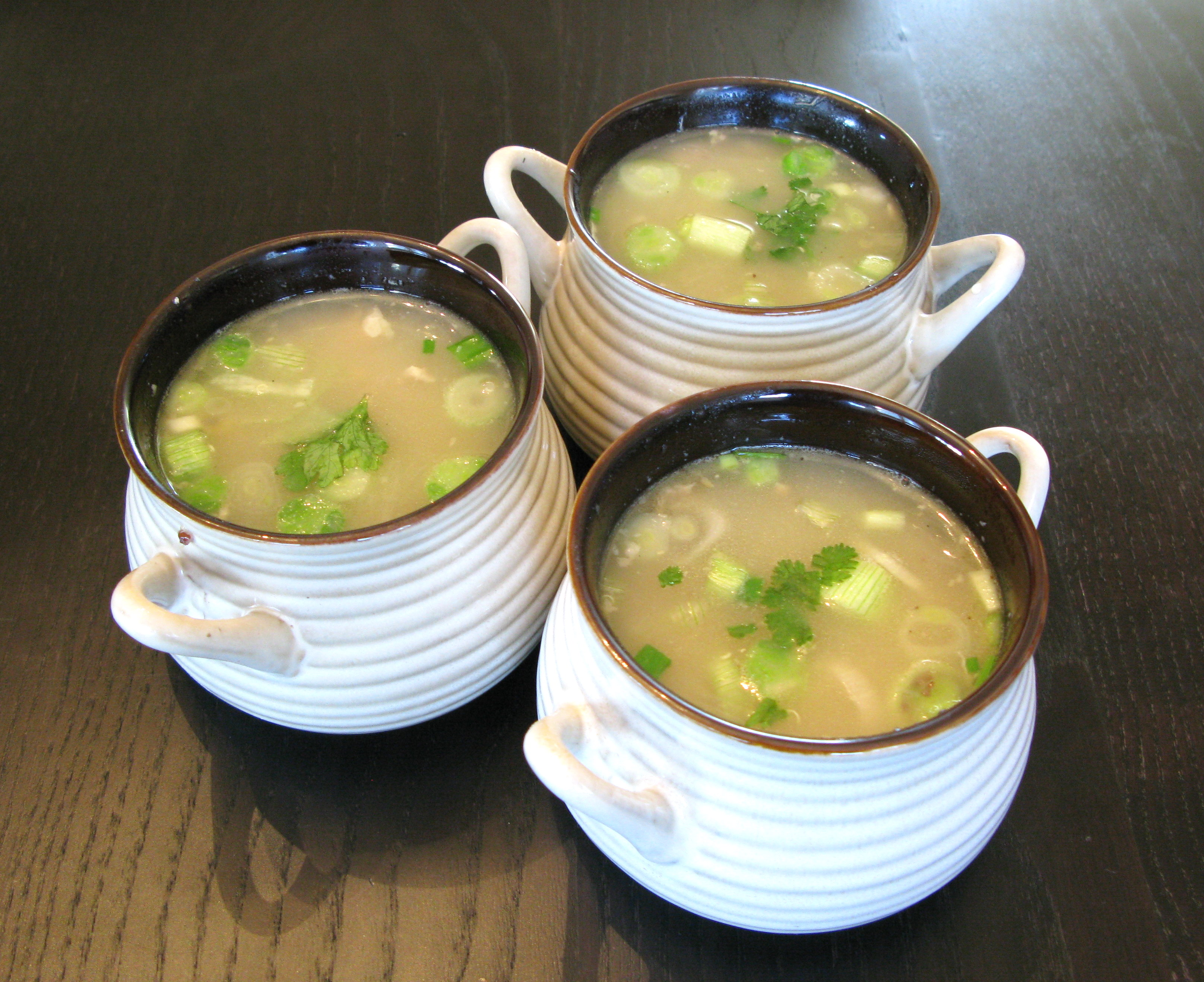 Sweet Corn Soup for those rainy days by the window