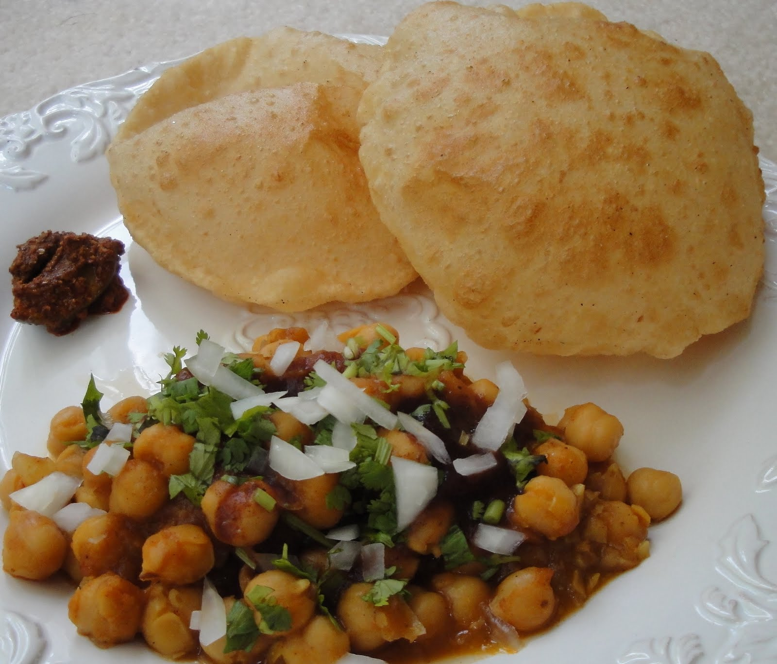 Chole Bhature- so worth the effort