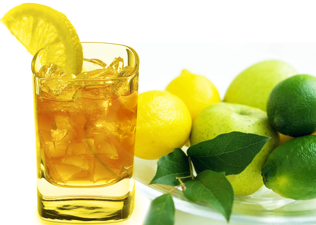 How to make iced tea with lemon