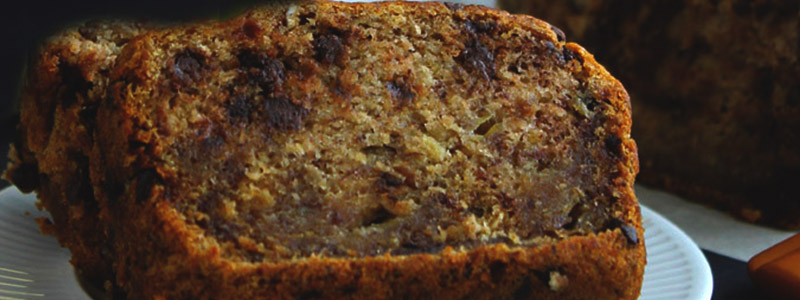 Vegan Banana Oat Bread Recipe