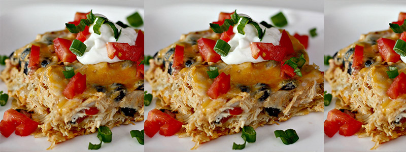 Healthy taco casserole recipe with cream of chicken soup