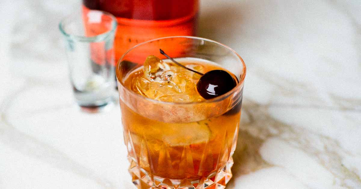 Chocolate Old-Fashioned Cocktail Recipe