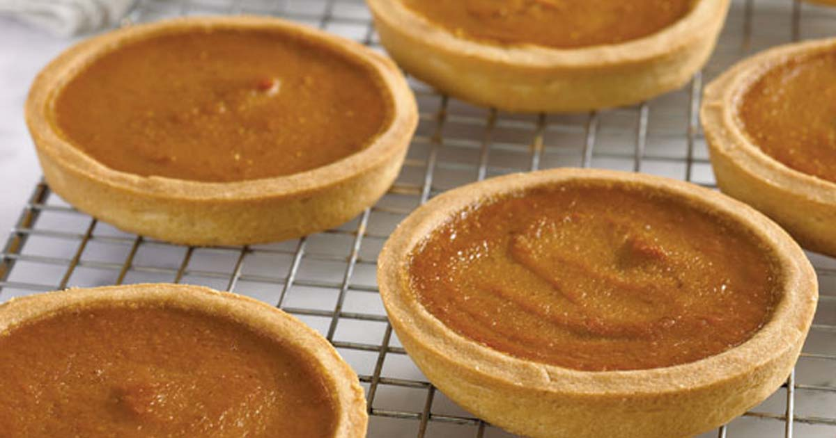 homemade pumpkin tart recipe