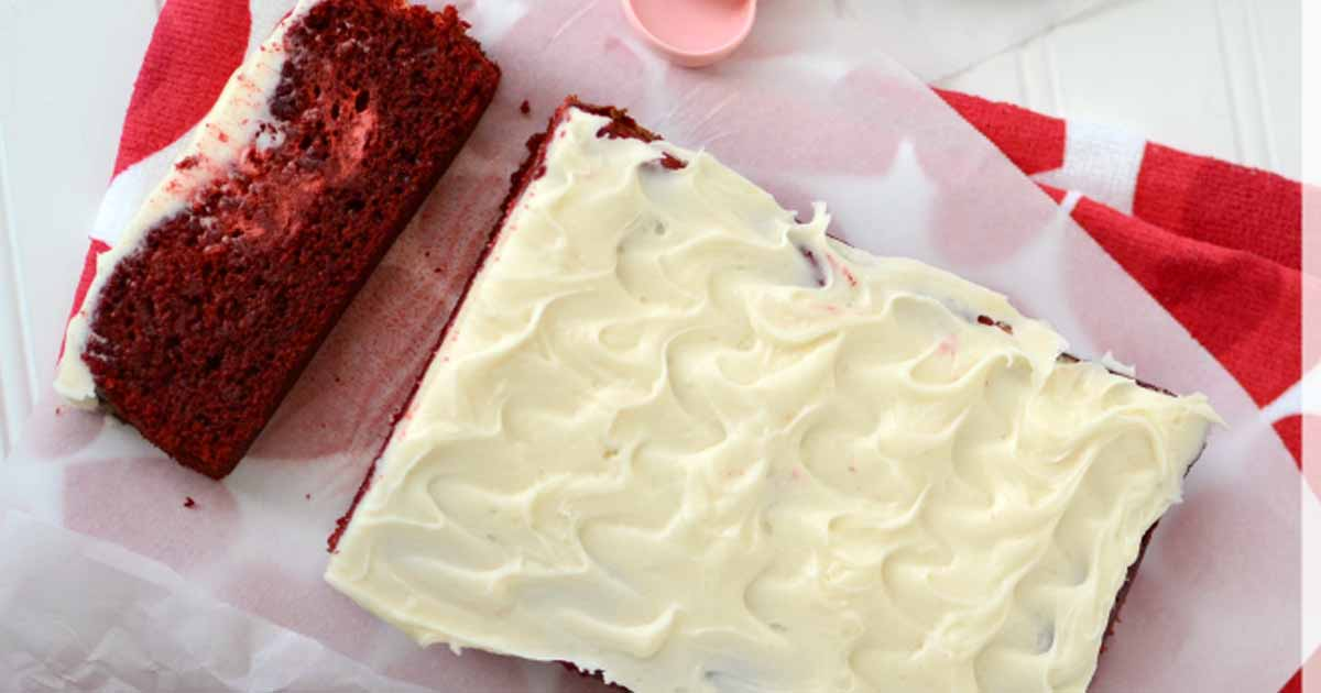 Easter's Red Velvet Cheesecake Loaf Recipe
