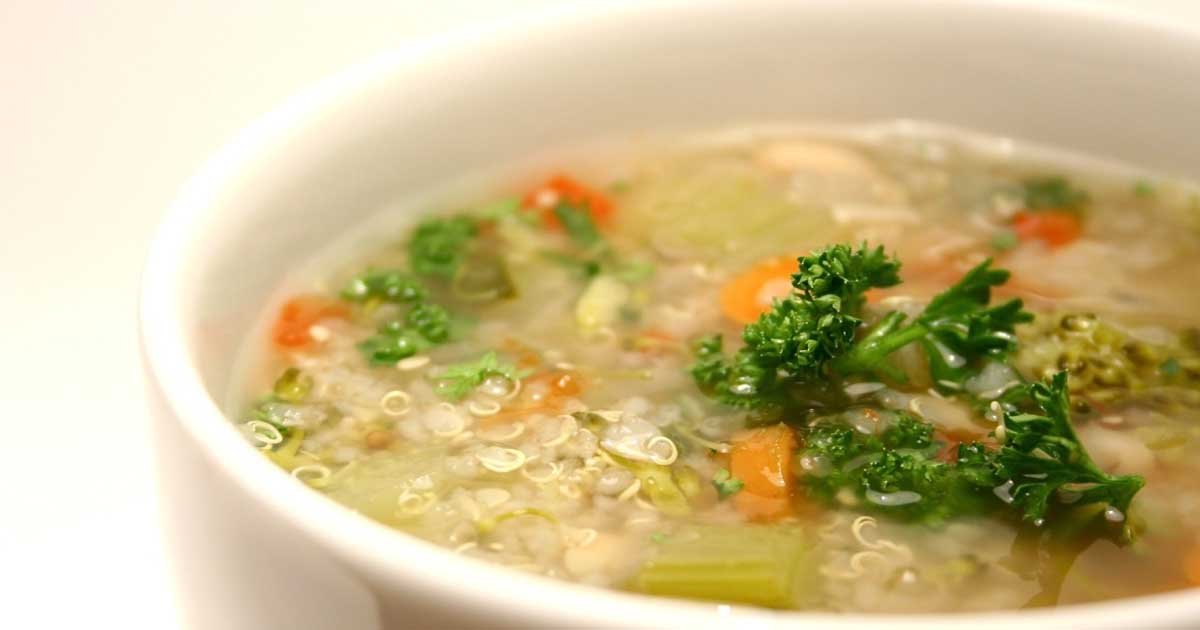 Vegetable Quinoa Soup Recipe