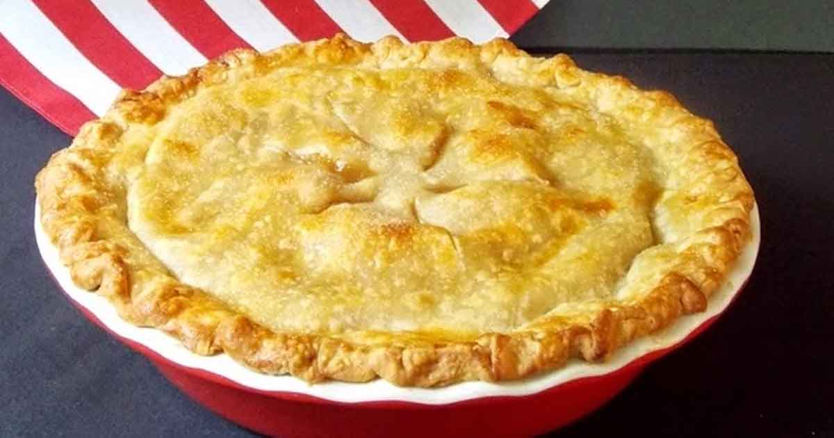 Homemade Apple Pie Recipe from Scratch