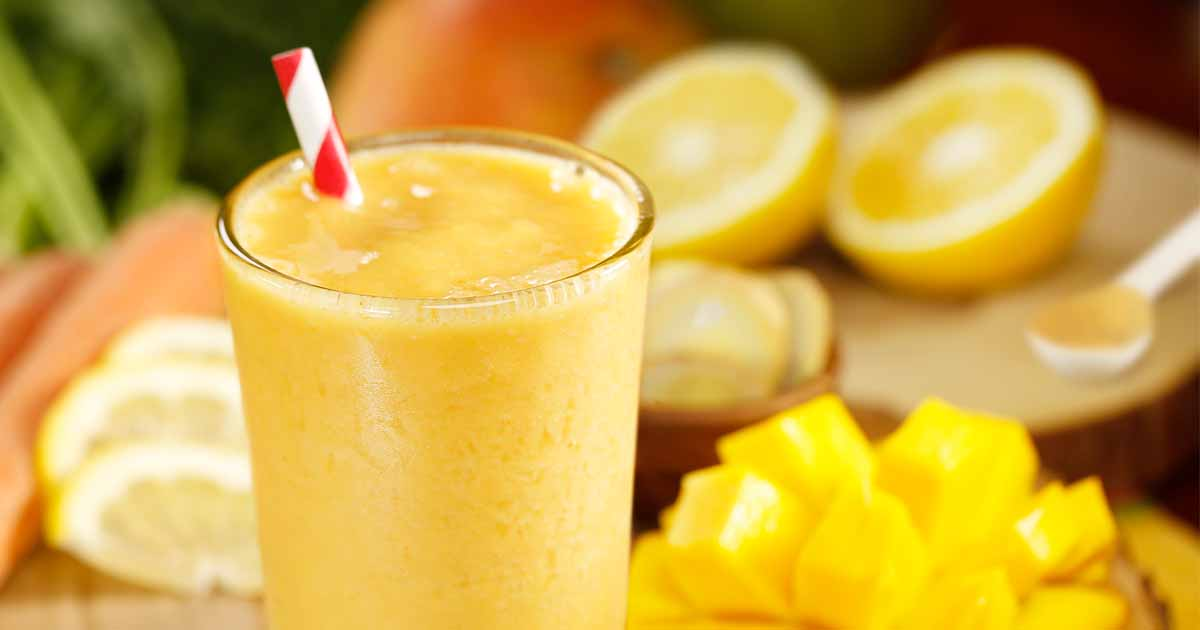 Mango Ginger Smoothie Recipe