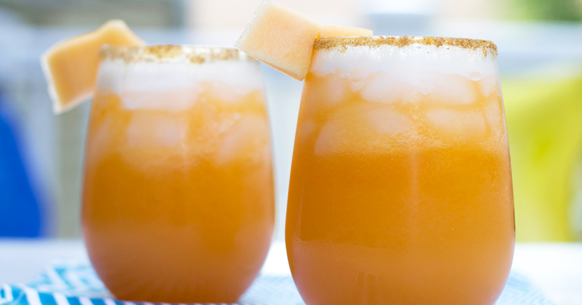 cantaloupe lime smoothie recipe Image