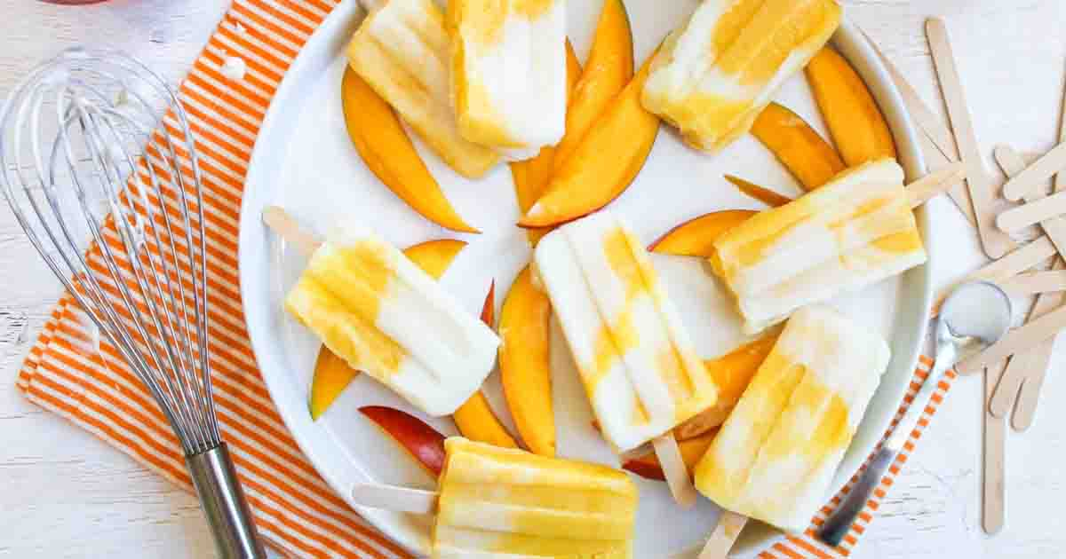 Mango Lassi Popsicle Recipe Image
