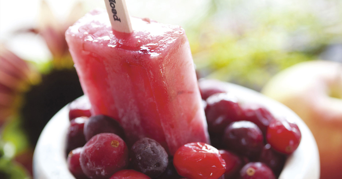 Apple Cranberry Popsicle Recipe