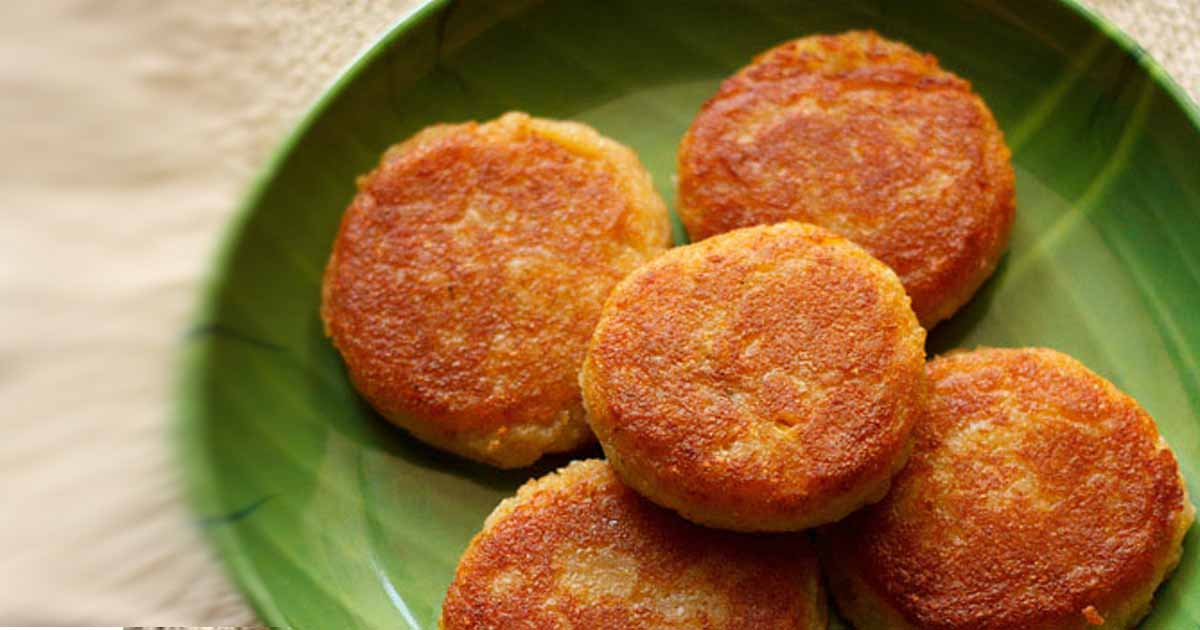 Corn Patties Recipe Image