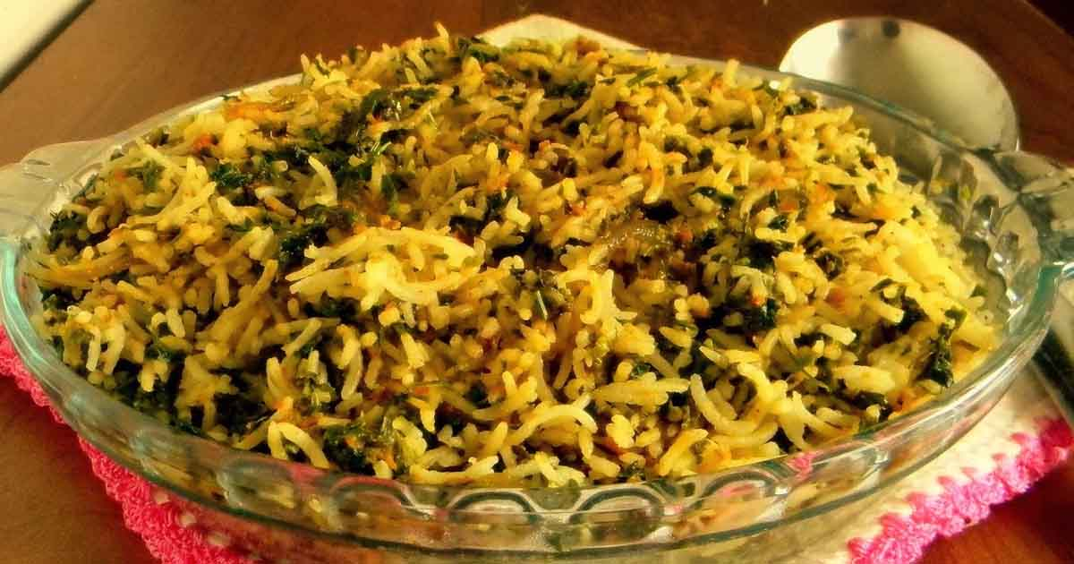 Methi Pulao recipe Image