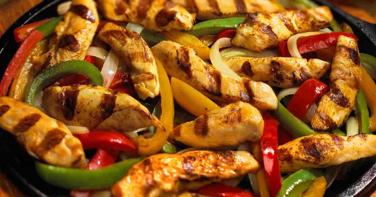 Chicken Fajitas Recipe Image