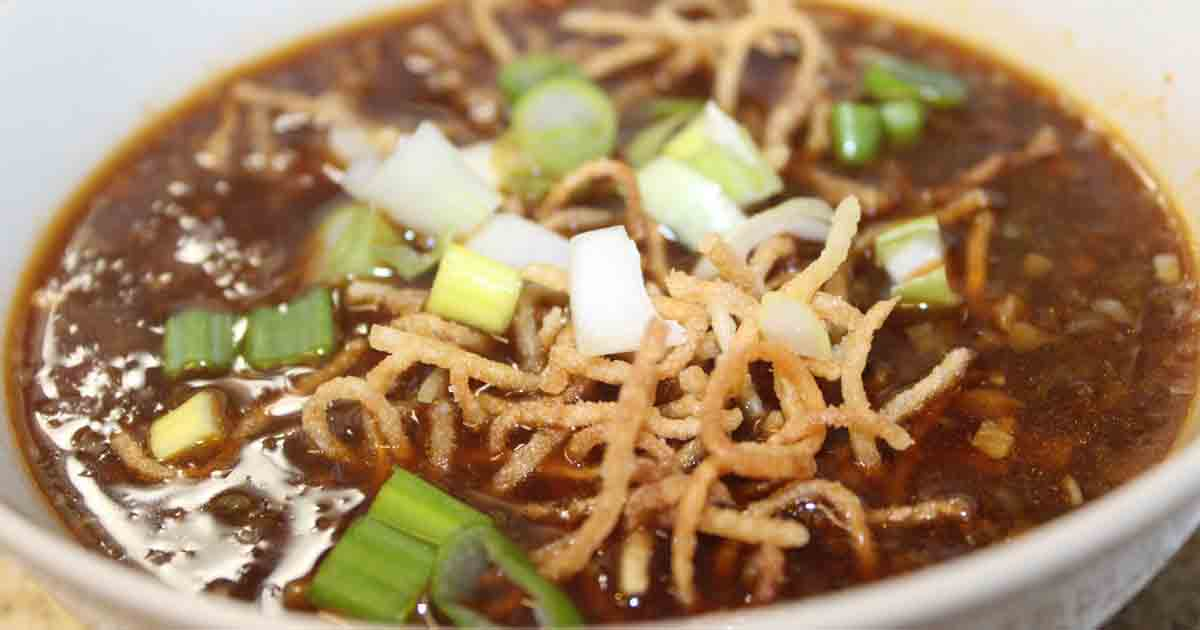 Veg Manchow Soup Recipe