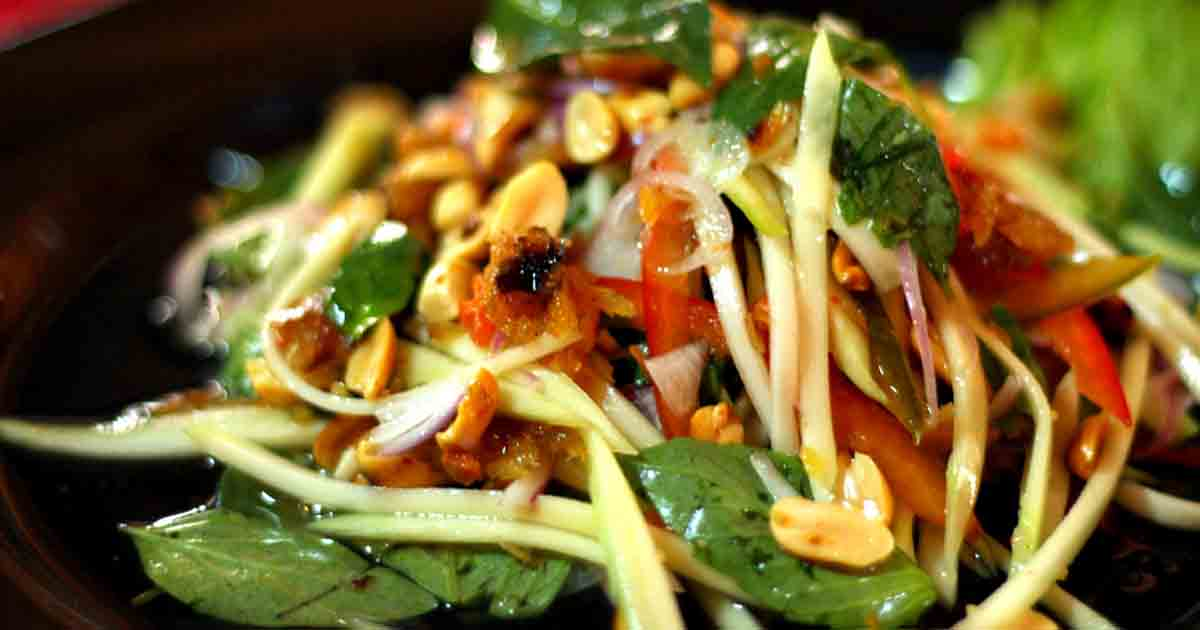 Thai Mango Salad Recipe Image