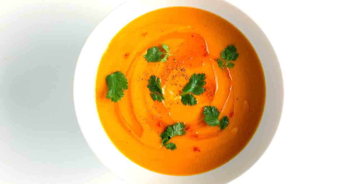 Carrot Coconut Soup Image