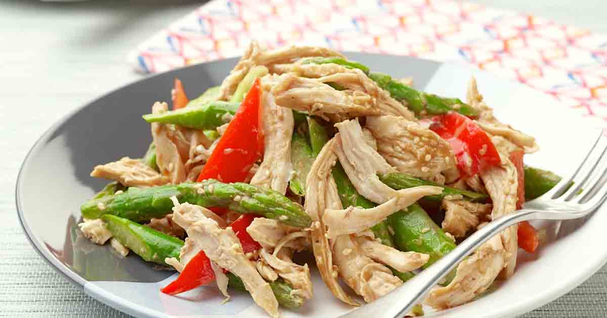 Asian Chicken Salad Recipe Image