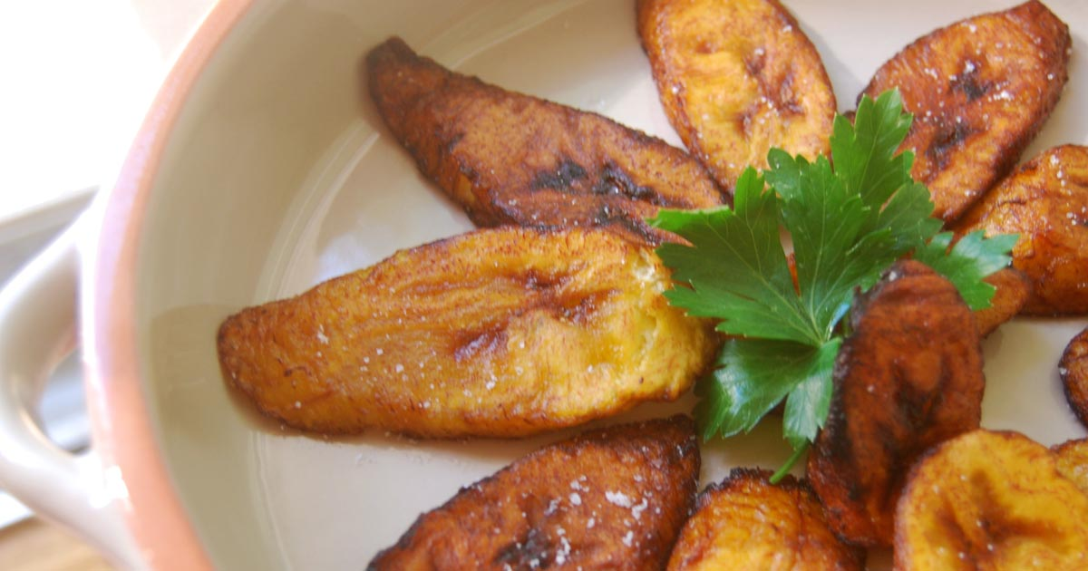 Fried Plantains Images