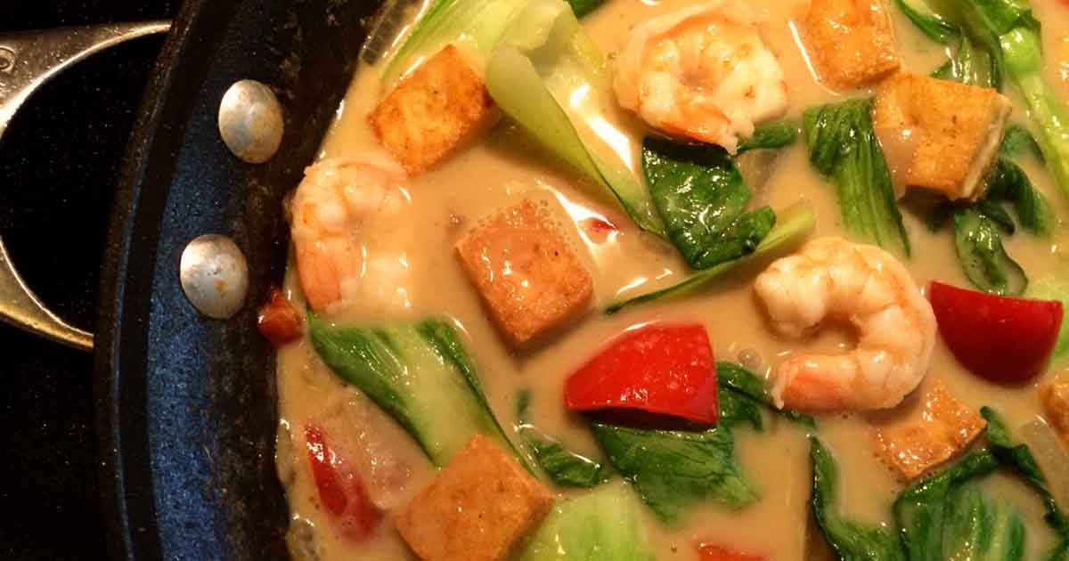 Thai Green Curry Shrimp Recipe