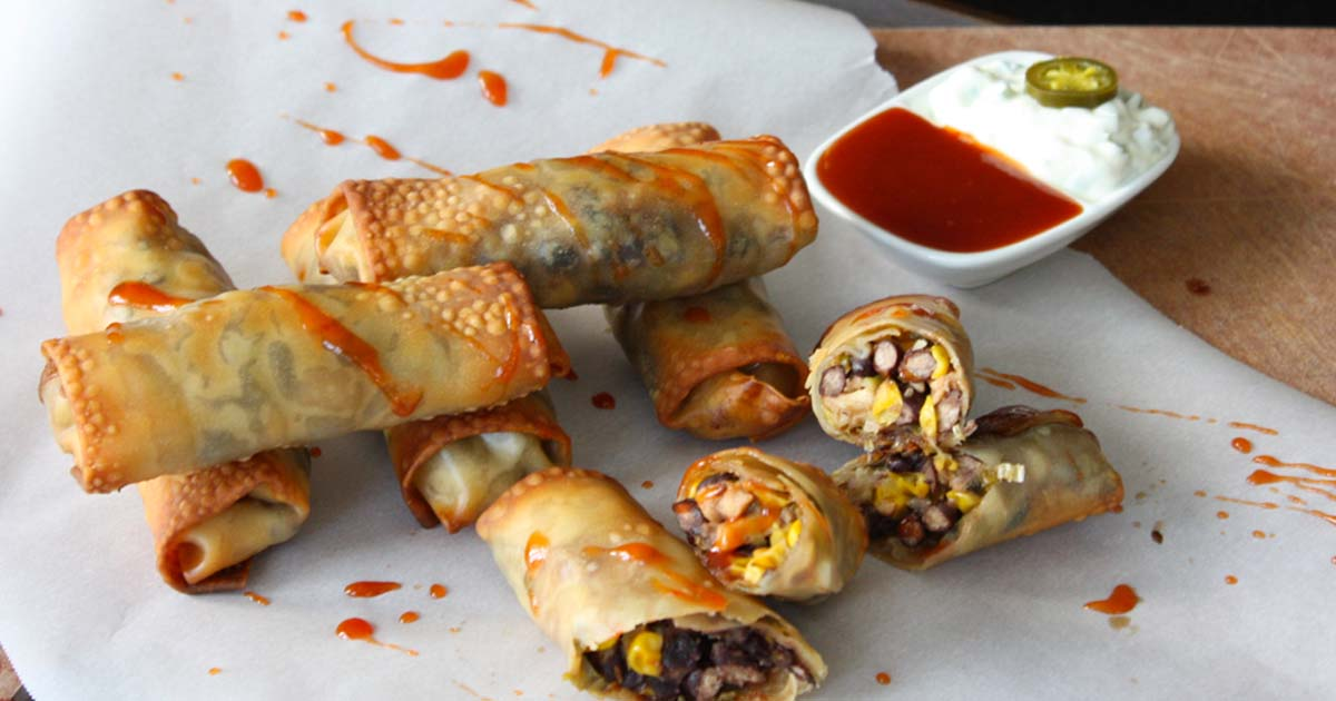 Mexican Egg Roll Recipe