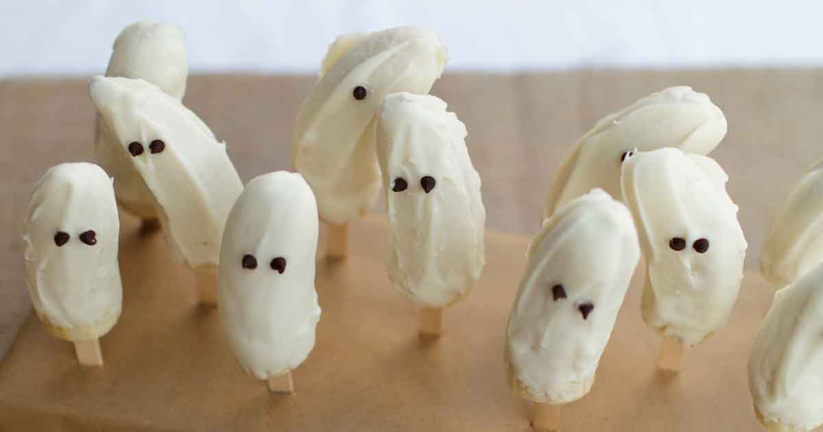 Frozen Banana Ghosts