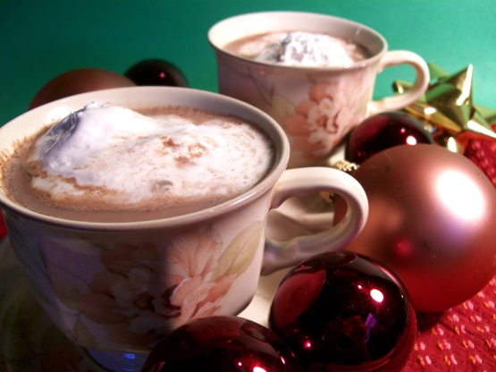 Christmas Cocoa Recipe