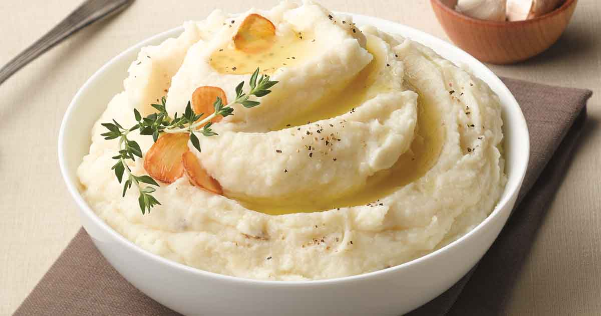 Roasted Garlic Mashed Potato Recipe