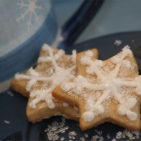 Butter Snow Flakes Recipe