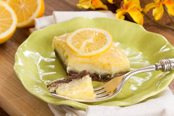 Cheesecake With Meyer Lemon-Ginger Curd Recipe