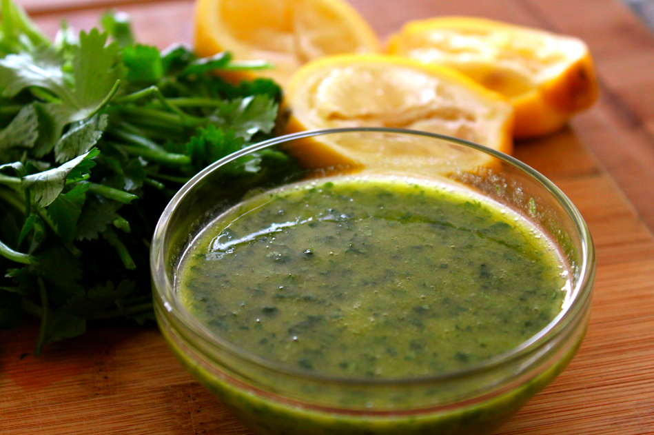 Cilantro Vinaigrette Recipe