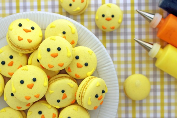 Easter Chick Macarons Recipe