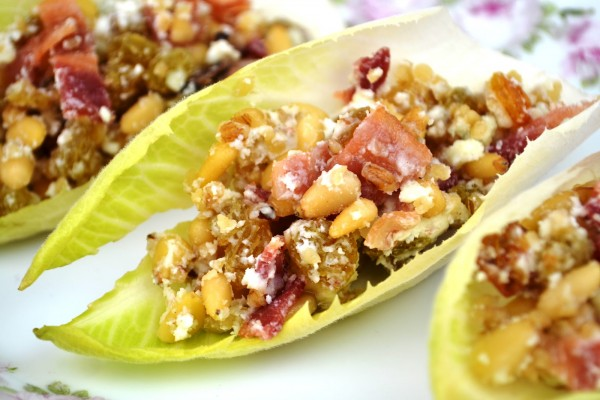 Honey-Nut Endive Appetizers Recipe