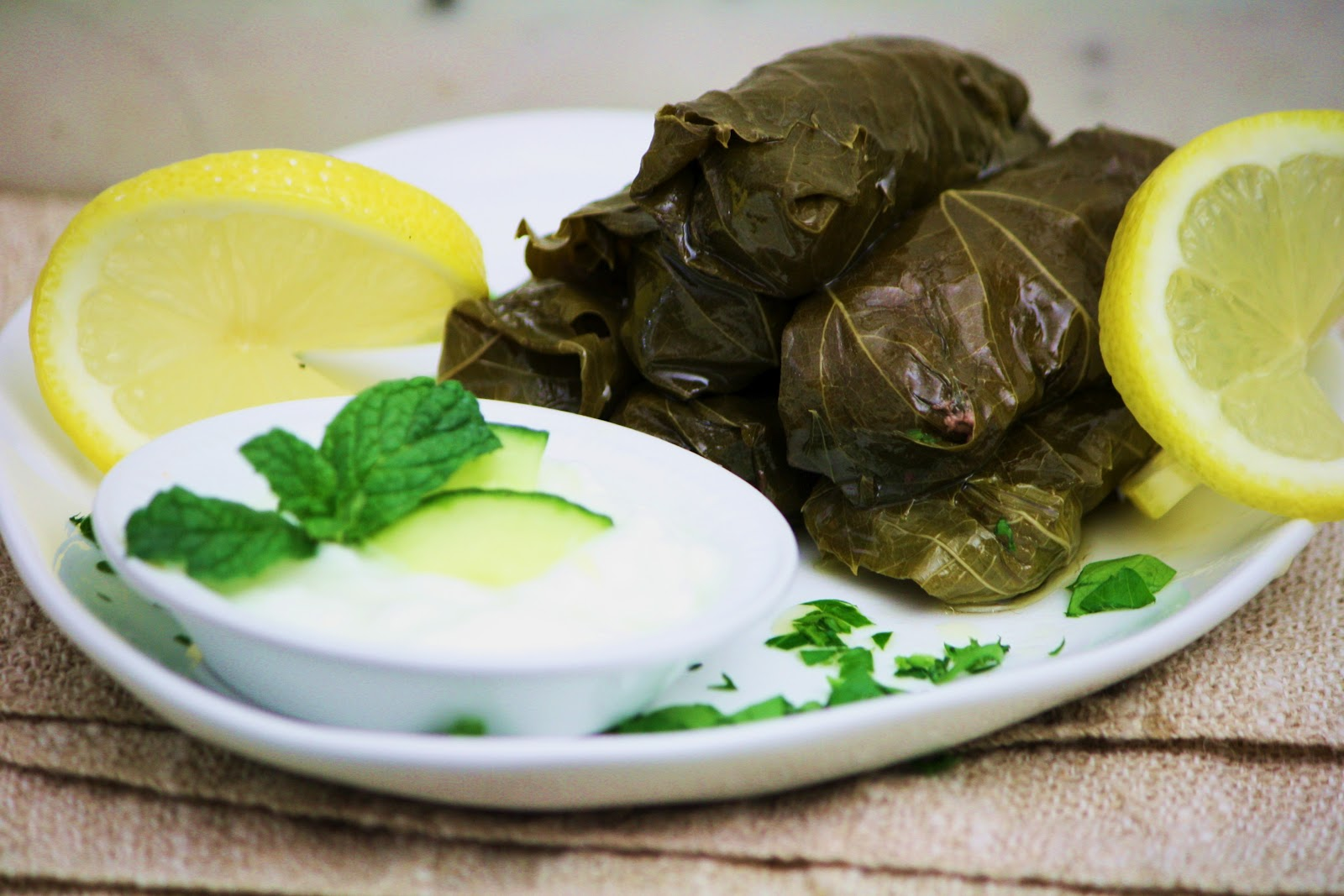 Lamb Dolmas (Stuffed Grape Leaves) Recipe