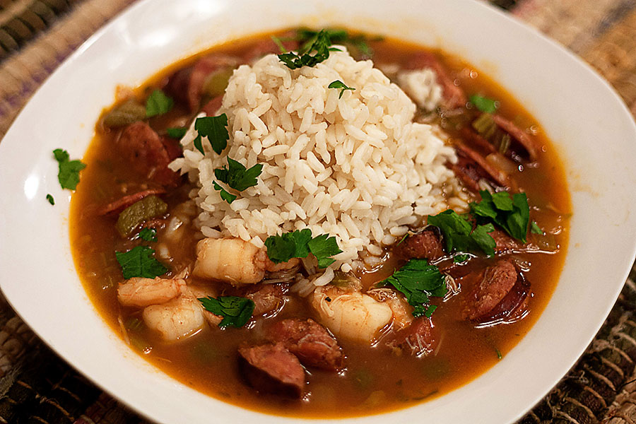 Seafood File Gumbo Recipe