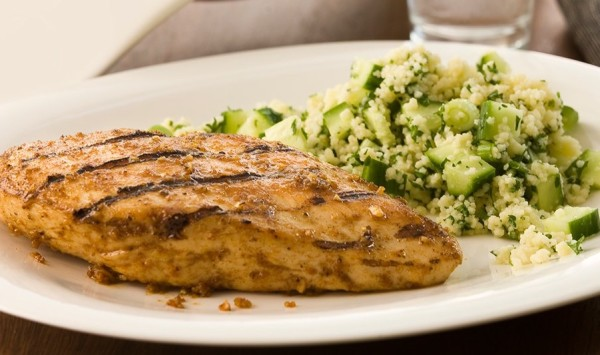 Grilled Chicken with Spiced Couscous Recipe