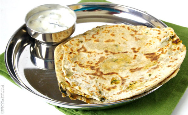 Aloo Methi Parathas Recipe