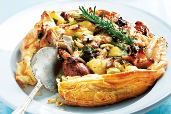 Chicken with Chorizo and Potatoes Recipe