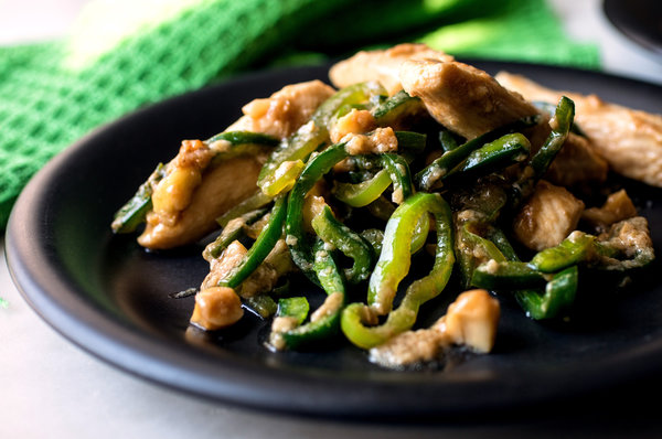 Chicken and Pepper Stir Fry Recipe