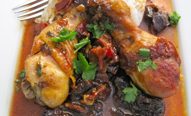 Chicken in Prune Sauce Recipe