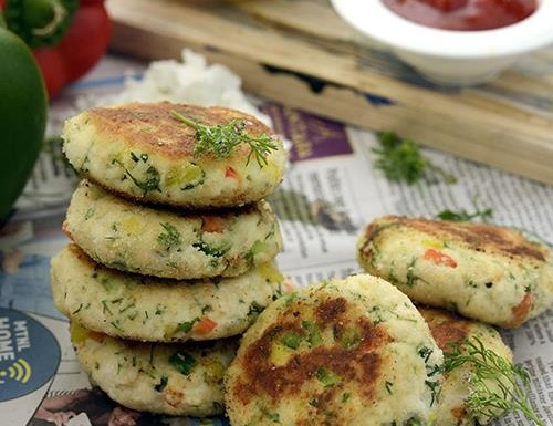 Cottage Cheese Cutlets Recipe