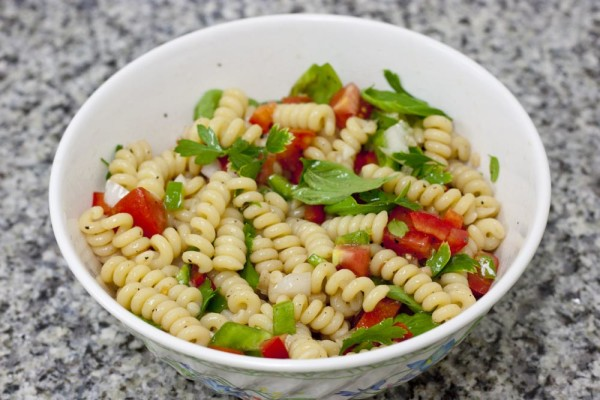 Garden Fresh Fusilli Recipe