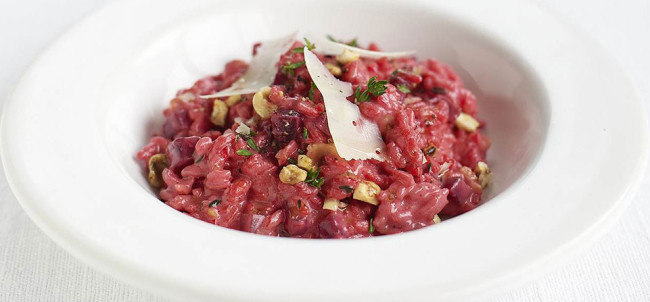 BEETROOT THYME RISOTTO RECIPE