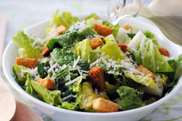 BIG CAESAR SALAD RECIPE