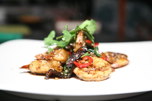 Garlic Soya Chilli Prawns Recipe