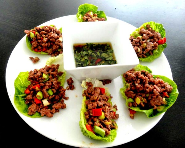 CHILE BEEF WRAPS RECIPE