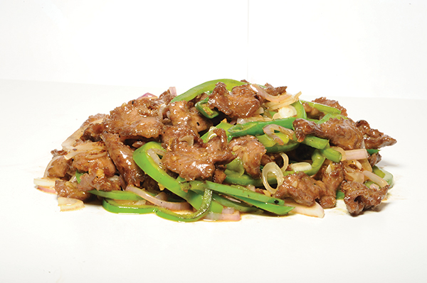 Lamb with green chillies Recipe