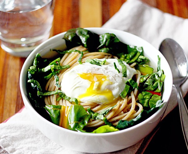 NOODLE SOUP WITH POACHED EGG RECIPE