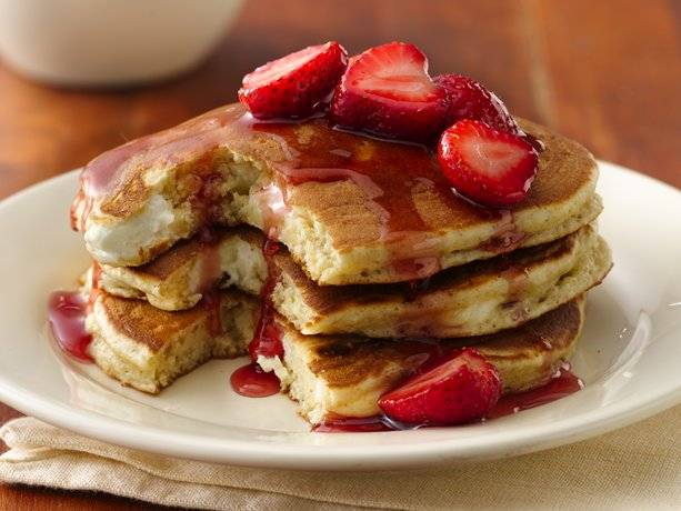 Strawberry Orange Pancakes Recipe