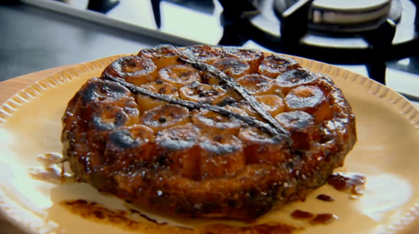 Spiced Banana Tarte Tatin Recipe